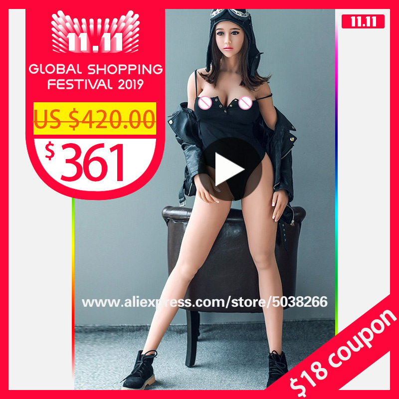 155cm Real Silicone Doll Realistic Breasts Vaginal Ass Pussy Sex Products Sex Dolls Adult Toy Japanese Oral Love Doll for Men-in Sex Dolls from Beauty & Health