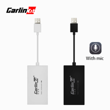 Carlinkit Wireless Smart Link Apple CarPlay Dongle for Android Navigation Player Mini USB Carplay Stick with Auto