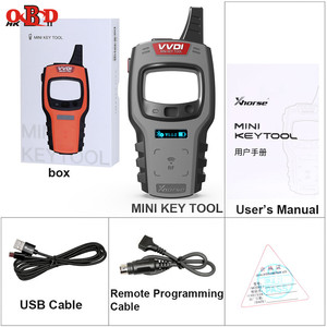 Image 5 - Xhorse VVDI Mini Key Tool Remote Programmer Support IOS/Android Free 96bit 48 Chip Clone with XT27 Super Chips Global Version