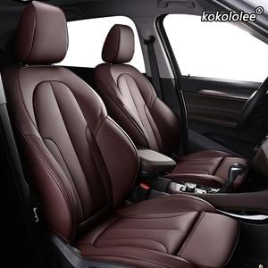 Image 2 - Kokololee Customหนังรถยนต์สำหรับAUDI A4 A3 A6 Q3 Q5 Q7 A1 A5 A7 A8 TT R8รถยนต์ที่นั่งครอบคลุมรถที่นั่ง