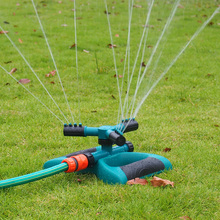 цена на 360°garden Sprinklers Automatic Gardening Grass Lawn Spray Faucets Rotating Misting Nozzle Irrigation Garden Pipe Hose