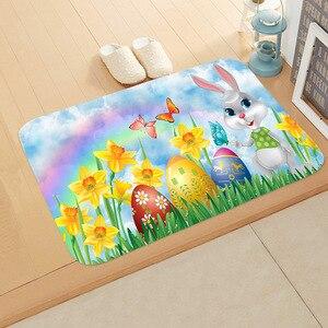 Image 5 - 40 * 60cm Cartoon Animal Floor Mat Non slip Suede Carpet Door Mat Kitchen Living Room Floor Mat Bedroom Decorative Floor Mat  ..