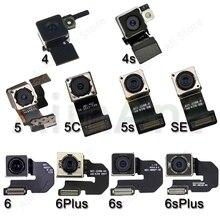 Oryginalna główna tylna kamera Flex dla iPhone 6 6s Plus SE 5s 5 5c tylna kamera Flex Cable naprawa części telefonu