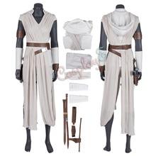 Костюм Rey Star Wars: The Rise of Skywalker; наряд для косплея; роскошная версия