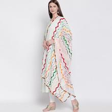 6 Colors India Nepal Ethnic Styles Woman Saree Spring Summer Scarf Beautiful Comfortable Embroidered Shawl