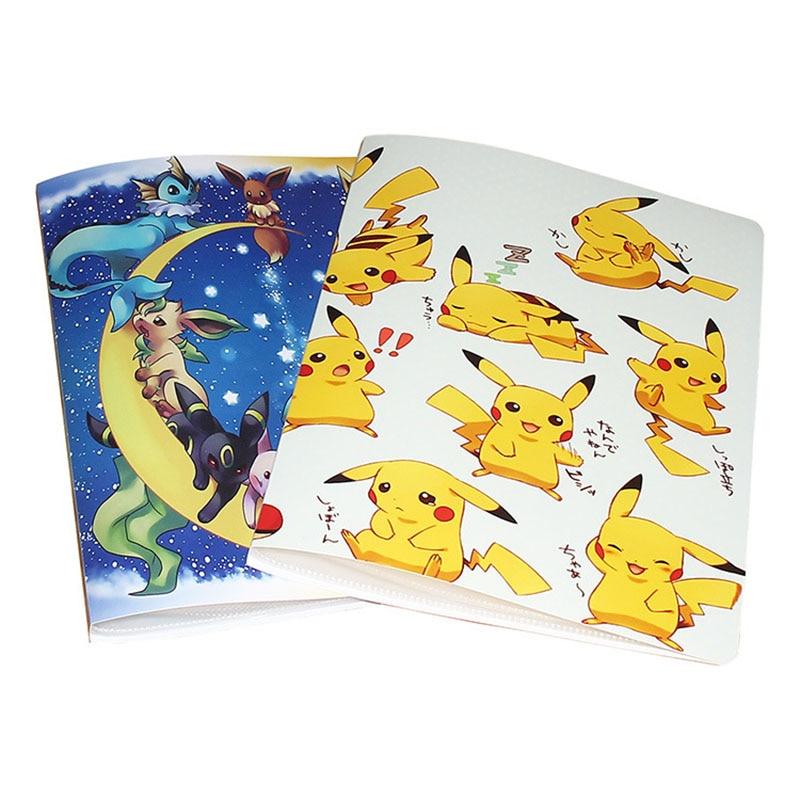Coleção cartões álbum pokemon cartões binder pokemon novidade presente livro lista de jogar cartão pokemon cartões titular álbum 240/324 pçs