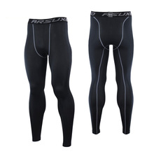 Brand Man Campaign Training Tights Run Fast Dry Pants Male Pro Elastic Fitness Football Basketball Backing