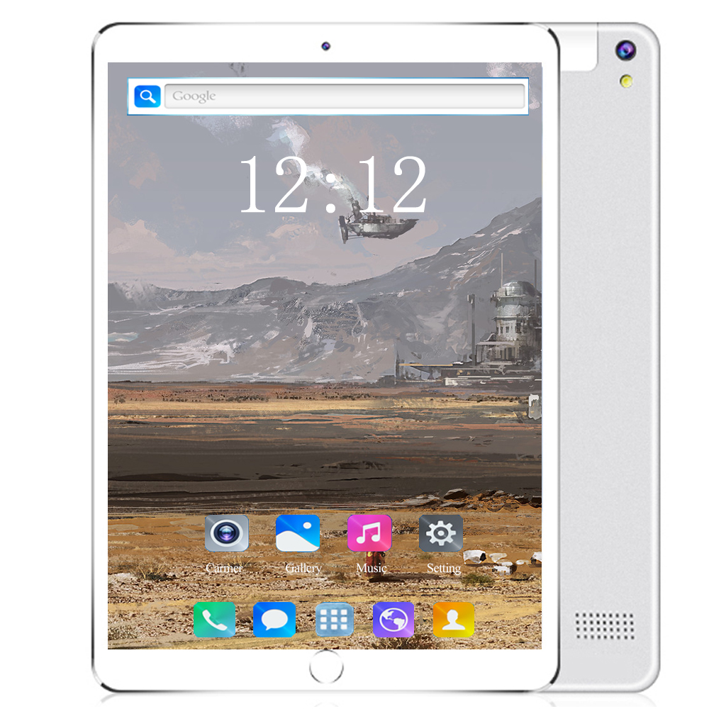 10 Inch 3G/4G LET Tablet Pc Android 8.0 OS Octa Core RAM 6GB ROM 128GB 1280*800 IPS Tempered Curved Screen WiFi Tablets 10 10.1