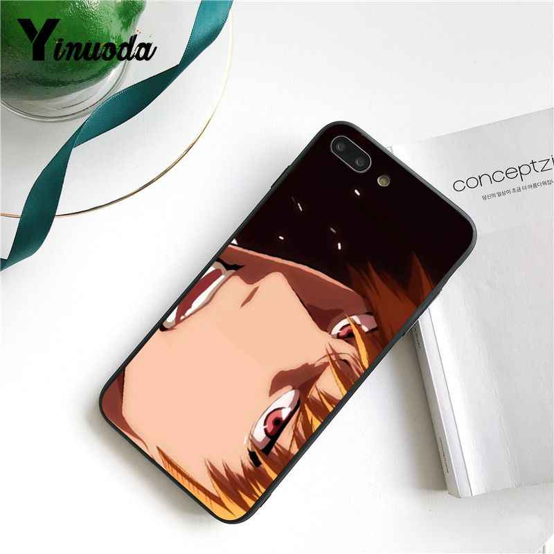 Yinuoda BLEACH comic stijl Coque Shell Telefoon Case voor iPhone 8 7 6 6S X XS MAX 5 5S SE XR 10 11 Pro Max