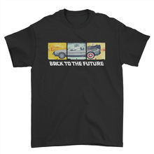 Back To The Future Film Cult Dr Emmett Brown DeLorean Men T Shirt Tshirt Tee Funny Tee Tshirt(China)