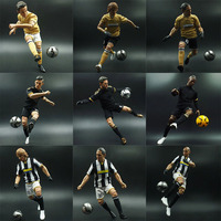 High Quality Soccer Club Action Figures 1/6 Scale Collectible Football Star Doll 30cm High Model Display Fans Souvenir Gifts