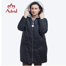 Зимняя куртка женщин Модный дизайн Золотой с капюшоном Зимняя куртка Женщины Теплый длинный вниз пальто FR-5076