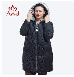 Nieuwe 2018 Winter Jas Vrouwen Fashion Design Golden Hooded Winter Jas Vrouwen Warme Lange FR-5076