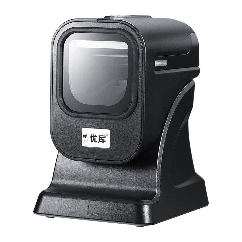 2D Apresentação plataforma MP6200 Frete grátis Omni Barcode Scanner Scanner de código de Barras Omnidirecional Scanner USB2.0/RS232