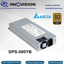 High-efficiency 1U PSU 500W industrial Power Supply with dual 8Pin good for 1U dual cpu server(China)
