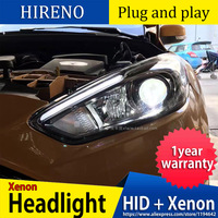 Car Styling Head Lamp case for Ford Focus ST LED Headlights 2015 2016 2017 DRL Daytime Running Light Bi Xenon HID Accessories