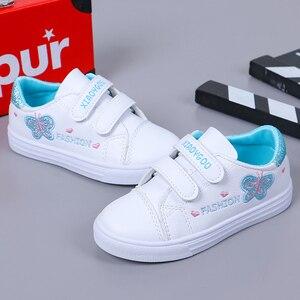 Image 4 - Bekamille ילדי ספורט נעלי סתיו תינוקות בנות תינוק רקמת פרפר נעלי ילדים מקרית נעלי ספורט סטודנט נעלי ריצה