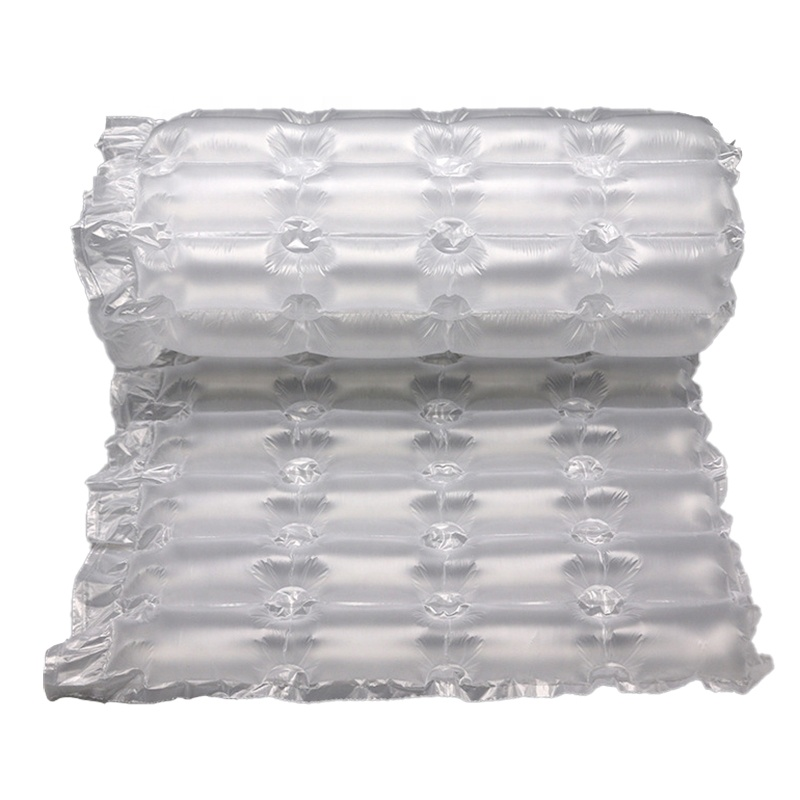 300m  Air Cushion Film Inflatable Packaging Plastic Film Packing FiIm Air bubble Rolls Cushion Wrap Protection Film Wholesale