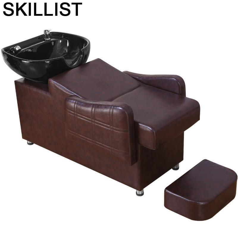 Bed Makeup Hairdresser De Belleza For Cabeleireiro Beauty Cadeira Maquiagem Hair Salon Furniture Silla Peluqueria Shampoo Chair