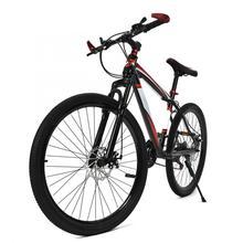 26 дюймов 21 скоростной горный велосипед, двойной дисковый тормоз, двойная Противоударная рама, горный велосипед для взрослых и подростков, велосипед