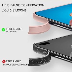 Telefon Fall Für Samsung S20 FE A51 A71 A31 A21S Hinweis 20 Ultra Flüssigkeit Silikon Soft Cover Für A50 A70 s20 S10 S9 S8 S21 Plus