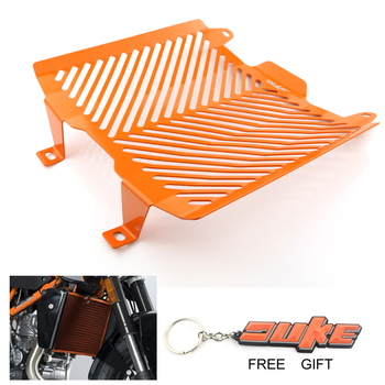 Radiator Grill Guard For KTM 690 Duke 2012 2013 2014 2015 2016 2017 2018 Protection Oil Cooler Cover clutch cover protection cover water pump cover protector for ktm 350 exc f excf 2012 2013 2014 2015 2016
