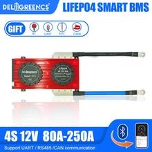 Bluetooth Smart BMS 4S 150A 200A 250A LiFePO4 Batterie BMS für 14,6 V Batterie pack mit Bluetooth KÖNNEN communicatio UART RS485