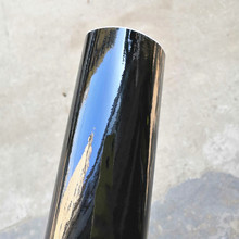 50*152/200/300..500CM High Quality Black Glossy Vinyl Film Piano Black Gloss Wrap Adhesive Air Bubble Free Car Wrapping Sheet