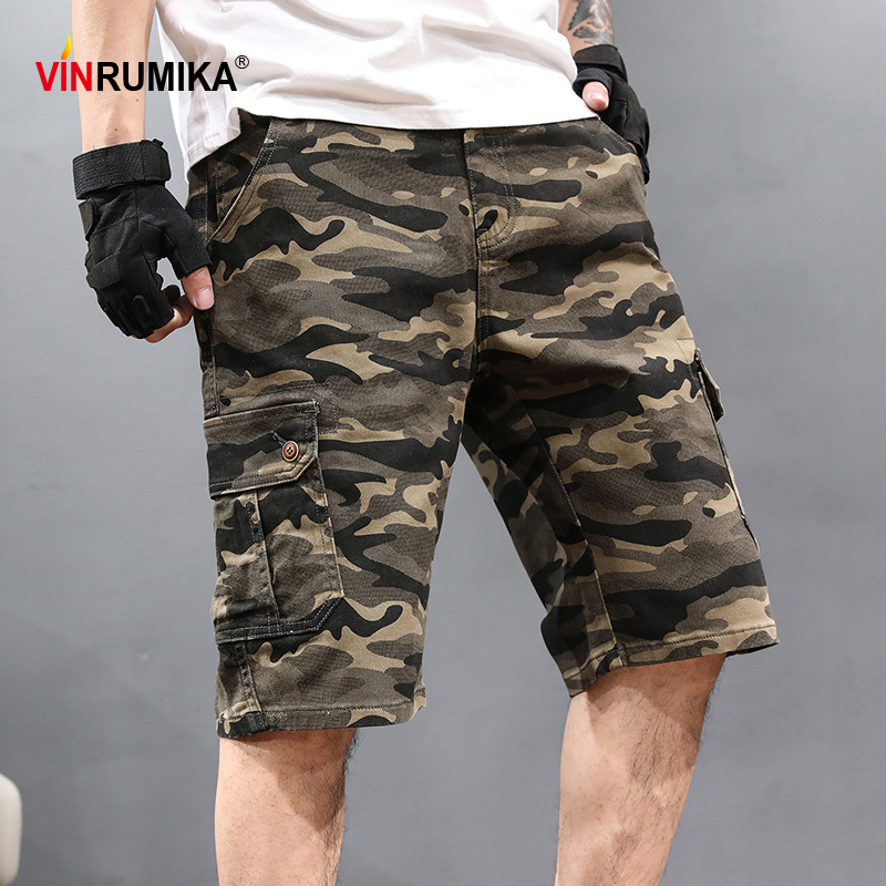 """New Mens Casual Chinos Regular Fit Combats Cargo Shorts Knee Length 34/""""-46/"""""""