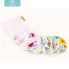 HappyFlute бамбуковые подушечки для кормления для мам водонепроницаемые моющиеся подушечки для кормления бамбуковые многоразовые подушечки для груди с мешком для стирки