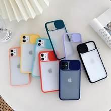 Funda dla Iphone 12 pro przypadku luksusowy obiektyw aparatu cukierki przypadku telefonu Coque dla Iphone 11 przypadki dla kobiet mężczyzn X XS Max XR 6 8 7 Plus