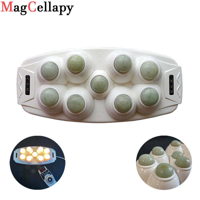 Heat Therapy Natural Jade Massageadon Physical Therapeutic Device For Body Tens Massage Relaxation And Muscle Stimulator
