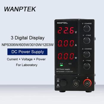 NPS306W/605W/3010W/1203W 3 Digital Display Mini Switching Regulated Power Supply Laboratory Adjustable Test DC Power Supply