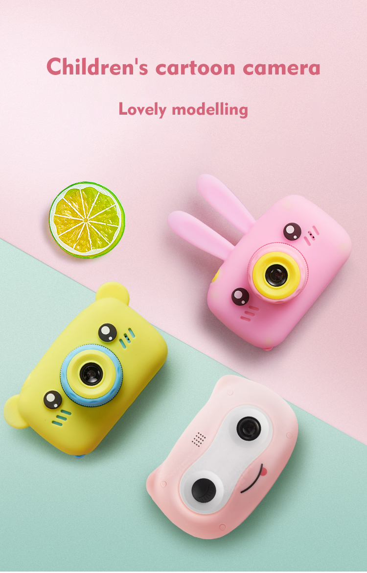 Children's Digital Camera Baby Mini Can Take Photos And Video 20 Megapixel High-definition Printable Photos Of Boys And Girls