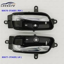 80670-3TA0D ( RH ) 80671-3TA0D( LH )for nissan altima Pathfinder Titan front door inner handle rear chrome