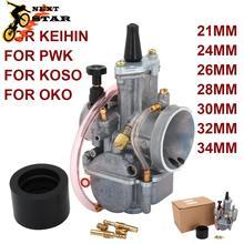 Para PWK 21 24 26 28 30 32 34 2T 4T para Park Mikuni KOSO OKO carburador Jet principal para Yamaha Suzuki scooter UTV ATV 50cc 250cc