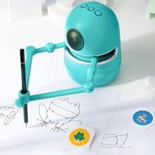 Machine d'apprentissage Montessori dessin jouet éducatif enfant 3 4 6 8 ans garçon fille jeu enfants ado peinture Graffiti enseigner Robot