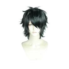 Tooru Fujisaki Yarichin Bitch Bu Club Curly Wig Cosplay Costume Heat Resistant Synthetic Hair Halloween Role Play Wigs