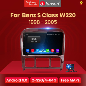 Junsun V1 pro Android 10 For Mercedes Benz S Class W220 S280 S320 S350 S400 S430 S500 S600 1998 - 2005 Car Radio Multimedia DVD
