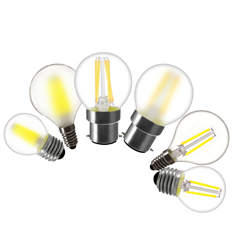 Frosted Led Light Bulb G45 E27 E14 B22 2w 4w 6w Lamp Dimmable 220v Bulbs For Home Glass Bulb