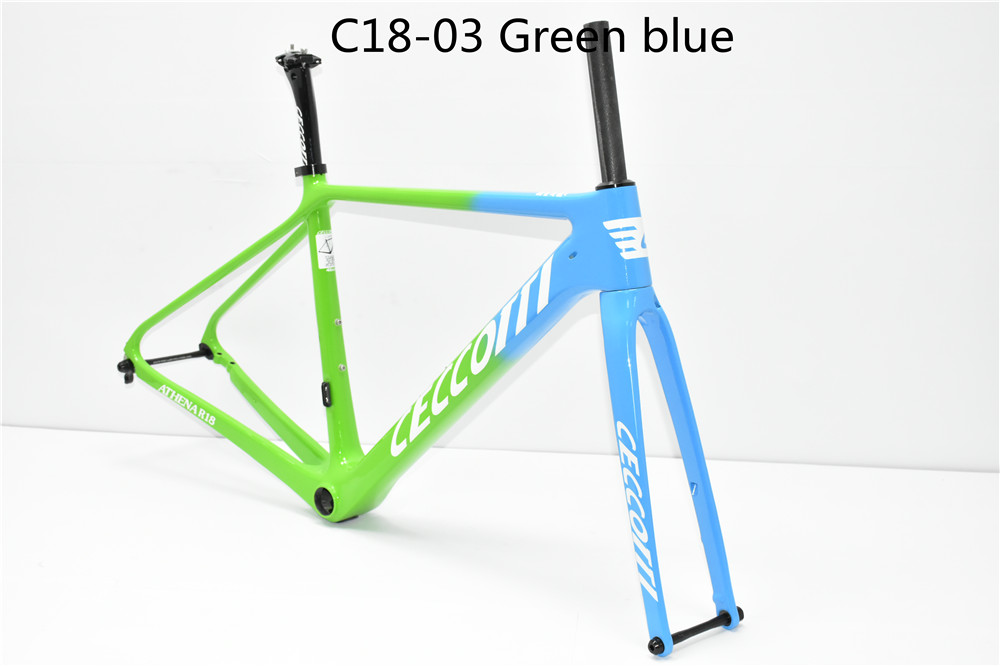 DC017/018 Road  Factory 2019 NEW Carbon Framest Road Or Disc Brakes  142x12 Bicycles T800 BB86 Carbon Frames Bike Frame Road