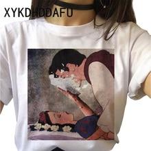 Vogue Princess T Shirt Women 90s Harajuku Funny Cute Tshirt Cartonn Ulzzang Vintage T-shirt Female F