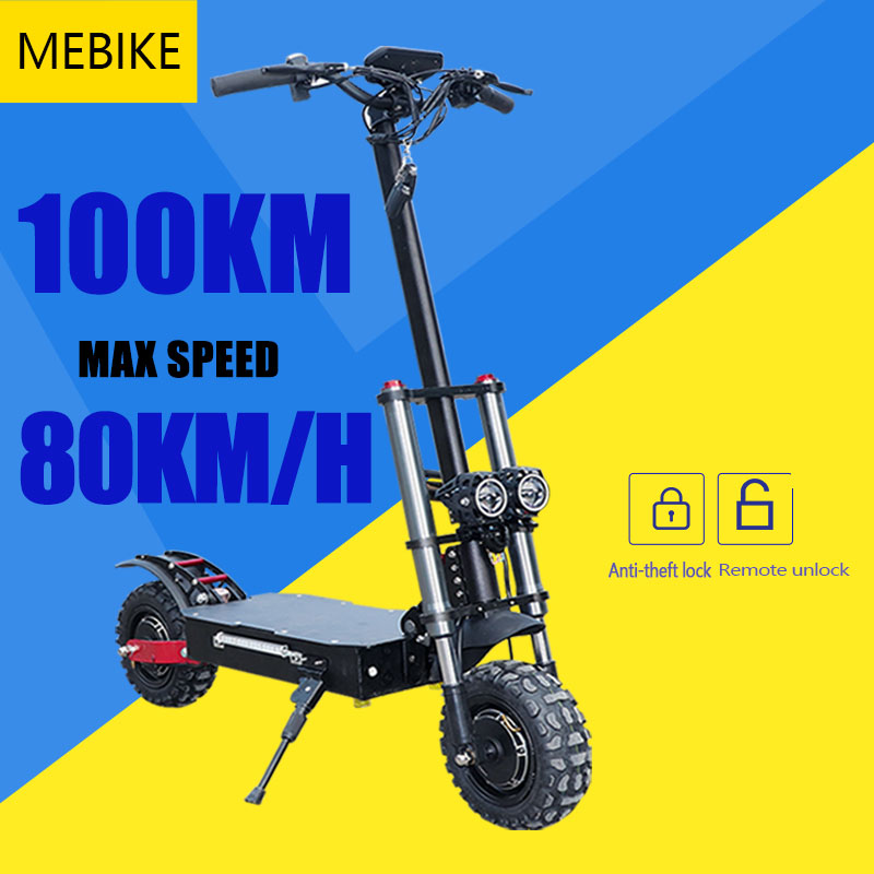 EU STOCK 60V 3200W Powerful 11inch Electric Scooter 100 Distance 70km/h Foldable Electric Kick Scooter Adult Electric Scooter