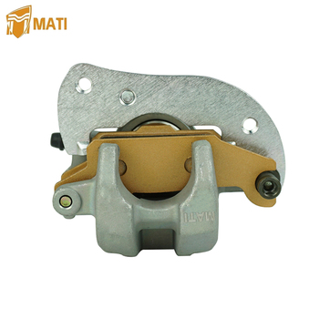 Mati For ATV Yamaha Grizzly 550 700 YFM550 YFM700 YFM 550 700 Rear Left Brake Caliper with Pads Replacement 3B4-2580V-11-00 left right with pads trim front brake caliper set tool useful atv mounting accessories metal auto car for yamaha banshee bear