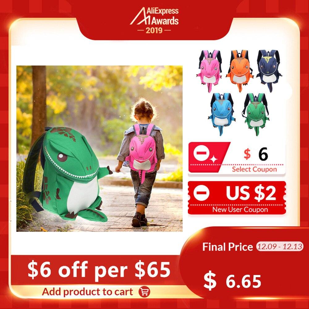 3D Dinosaur Backpack For Boys Girls Children Waterproof Backpacks Kids Kindergarten Small SchoolBag Girls Animal School Bags