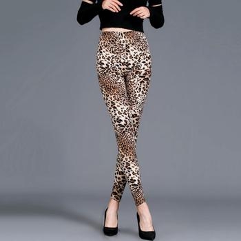 YSDNCHI New Stripe Leopard Print Leggings Women High Waist Legings Work Out Legging Sporting Push Up Trousers Fitness Leggins 10