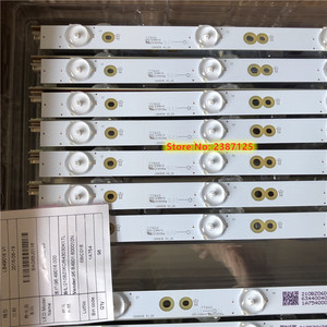 Image 5 - Tira de LED para iluminación trasera para LB49016 V1_00 GJ 2K16 490 D712 P5 R/L 01N21 01N22 TPT490U2 49PUS6401 49PUH6101 49PUS6762 49PUS6272, 14 Uds.