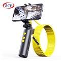 F280 эндоскоп Wi-Fi камеры «рыбий глаз» 8 мм с двумя объективами HD1080P на змеевидной трубке жесткий кабель IP68 Водонепроницаемая инспекциионный бо...
