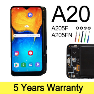 High Quality Lcd For Samsung Galaxy A20 Display Touch Screen New In-cell Quality Display For Samsung A205F Sam-A205 Lcd TFT