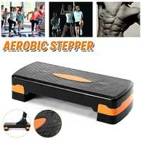 68x28x15cm Fitness Pedal Rhythm Board Aerobics Board Adjustable Step Height Exercise Pedal Perfect For Home Fitness